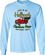 Girlie Girl Originals Christmas Hall Mark Movie Watching Shirt Long Sleeve T-Shirt Adult