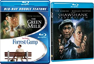 Green Mile & Shawshank Redemption Stephen King [Blu-ray] + Tom Hanks Forrest Gump Pack 3 Movie Set Triple Feature