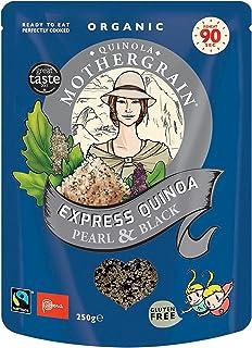 Quinola Mothergrain Organic Express Quinoa Pearl & Black, 250 gm
