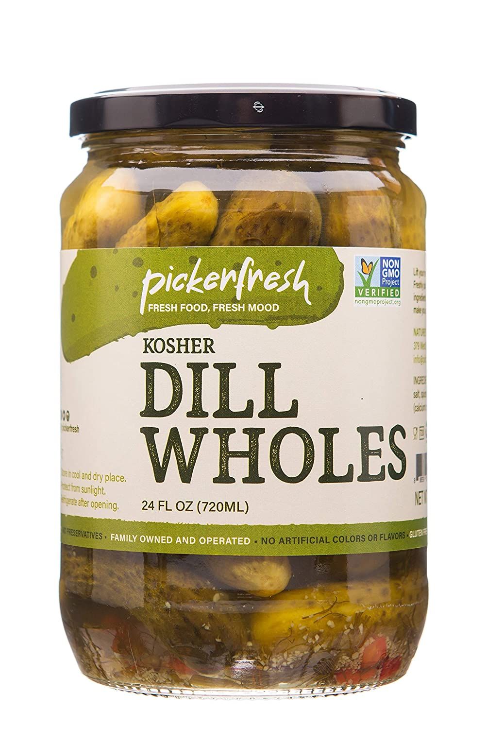 Pickerfresh Kosher Dill Wholes - Elegant Now free shipping Whole Pickles Simple Large In
