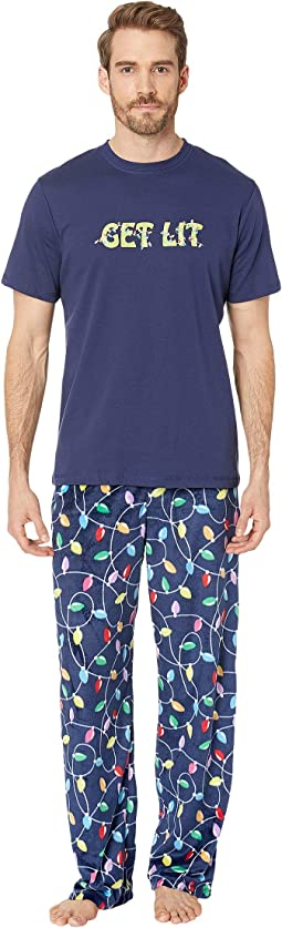 Get Lit Family Short Sleeve PJ Set