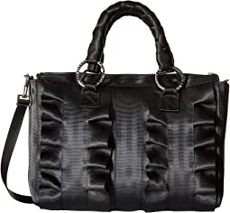 Lola Satchel Salvage Black