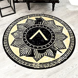 Area Rugs Carpet Coffee Table Bedroom Study Computer Blanket Chair Mat Children's Crawling Blanket Personalized Round Rug ...