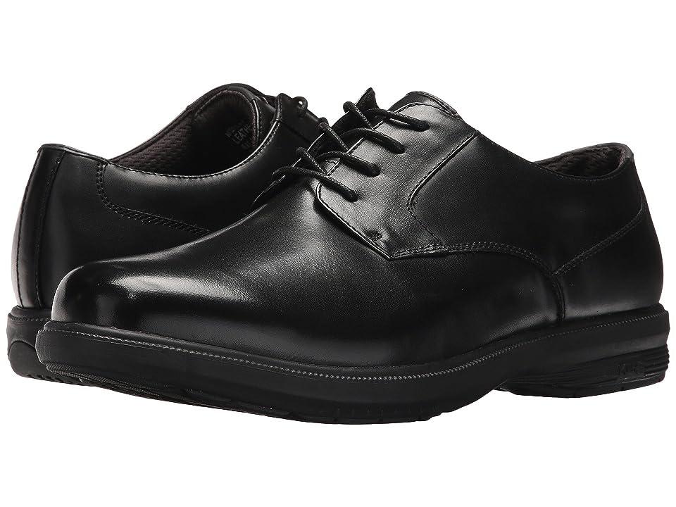 Nunn Bush Mason Street Waterproof Plain Toe Oxford with KORE Slip Resistant Walking Comfort Technology (Black) Men