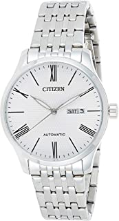 Citizen Mens Automatic Watch with Day and Date Display - Powered by High precision Made in Japan Self winding Mechanical M...