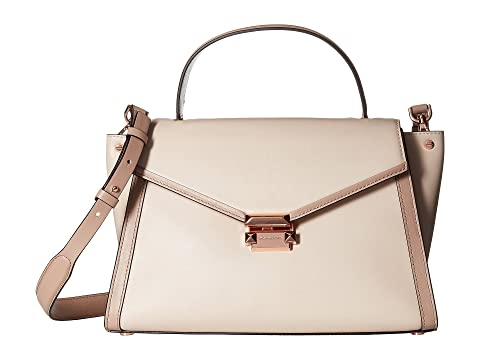 4612df37dbd MICHAEL Michael Kors Whitney Large Top-Handle Satchel at Zappos.com