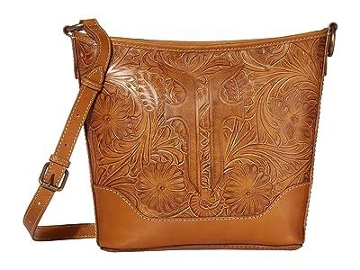Frye Melissa Artisan Small Hobo Crossbody (Sunflower) Handbags