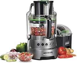 Hamilton Beach Professional 14-Cup Dicing Food Processor BPA-Free Bowl, Extra-Wide Feed..