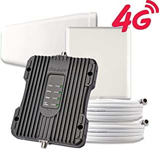 SolidRF Cell Phone Booster 4G Kit Cell Phone Signal-Booster for Home Office Supports 4000 SQ Ft