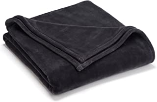 Vellux Sheared Mink Full/Queen Blanket, Charcoal Grey