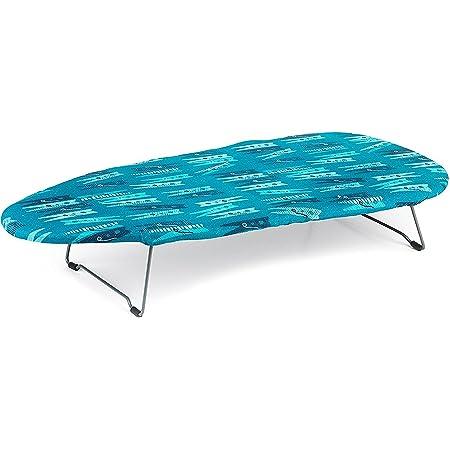 Beldray LA023735PEG Mini/Petite Table Planche à Repasser, Pliable et Peu Encombrante, 73 x 31 cm, Motif de Pince à Linge, Acier, Peg, 73 x 31cm