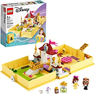 LEGO Disney Belle's Storybook Adventures 43177 Creative Building Kit Toy, New 2020 (111 Pieces)
