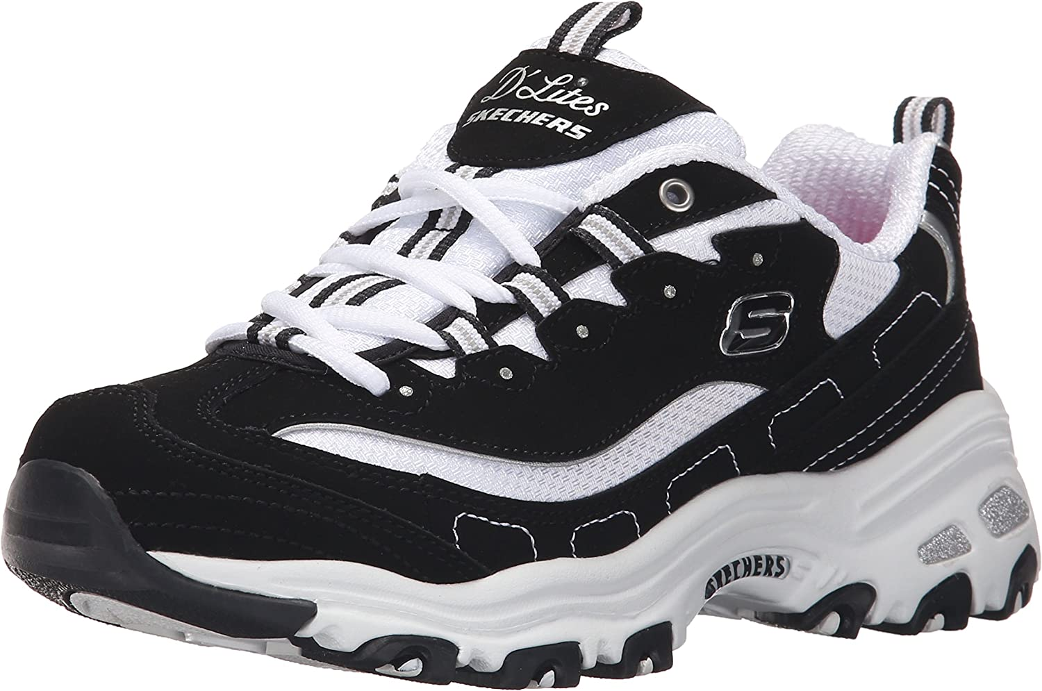 Skechers Women's D'Lites - Biggest Fan Sneakers