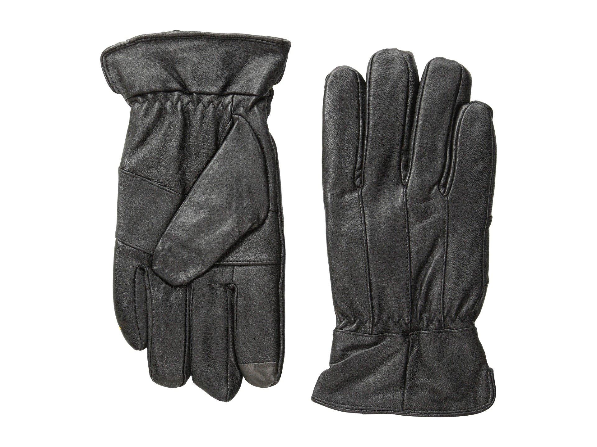 Guantes para Hombre Florsheim Smart Touch Leather Gloves  + Florsheim en VeoyCompro.net
