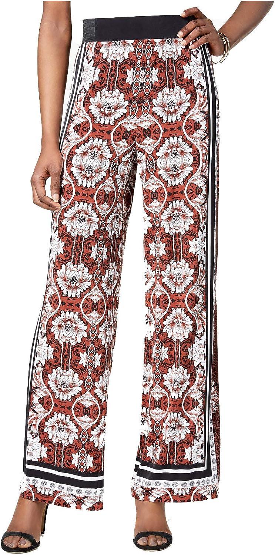 INC International Concepts Women's Floral Printed PullOn Pants
