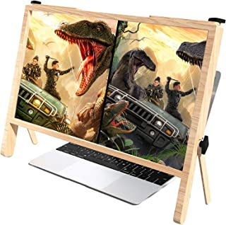 21 Inch Computer Screen Magnifier Enlarger,3d Ultra-clear Laptop Screen Magnifier Projector Expansion Bracket Physical Mag...
