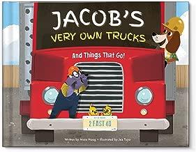 Personalized Children's Book Truck Tractors