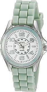 XOXO Women's XO8083 Analog Display Analog Quartz Blue Watch
