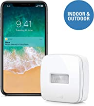 Eve Motion - سنسور حرکت هوشمند بی سیم با مقاومت IPX 3 مقاوم در برابر آب، دریافت اطلاعیه ها، به طور خودکار لوازم جانبی و صحنه های حرکتی، بدون نیاز به پل، بلوتوث (AppleKnit HomeKit)
