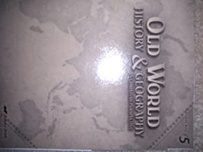 Old World History & Geography In Christian Perspective, Answer Key Grade 5, Abeka 2009