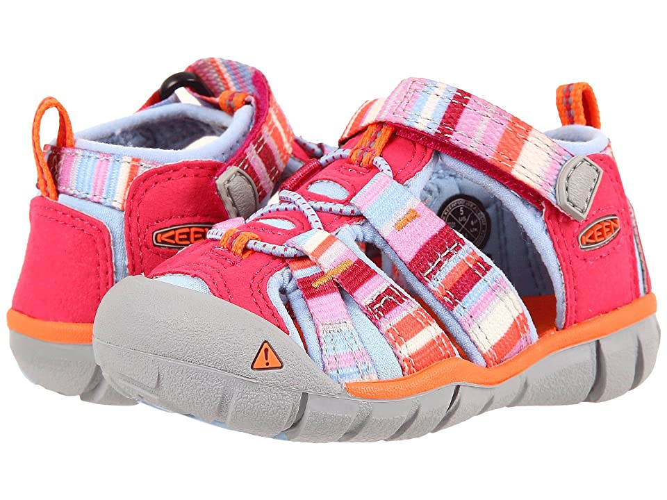 Keen Kids Seacamp II CNX (Toddler) (Bright Rose Raya) Girls Shoes