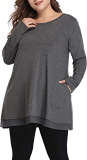 Shiaili Women Plus Size Spring Shirt Graceful Lace Tunic...