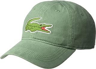 Lacoste Men's Big Croc' Gabardine Cap