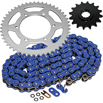 NICHE Drive Sprocket Chain Combo for Yamaha YZF R6 Front 16 Rear 48 Tooth 530V O-Ring 116 Links