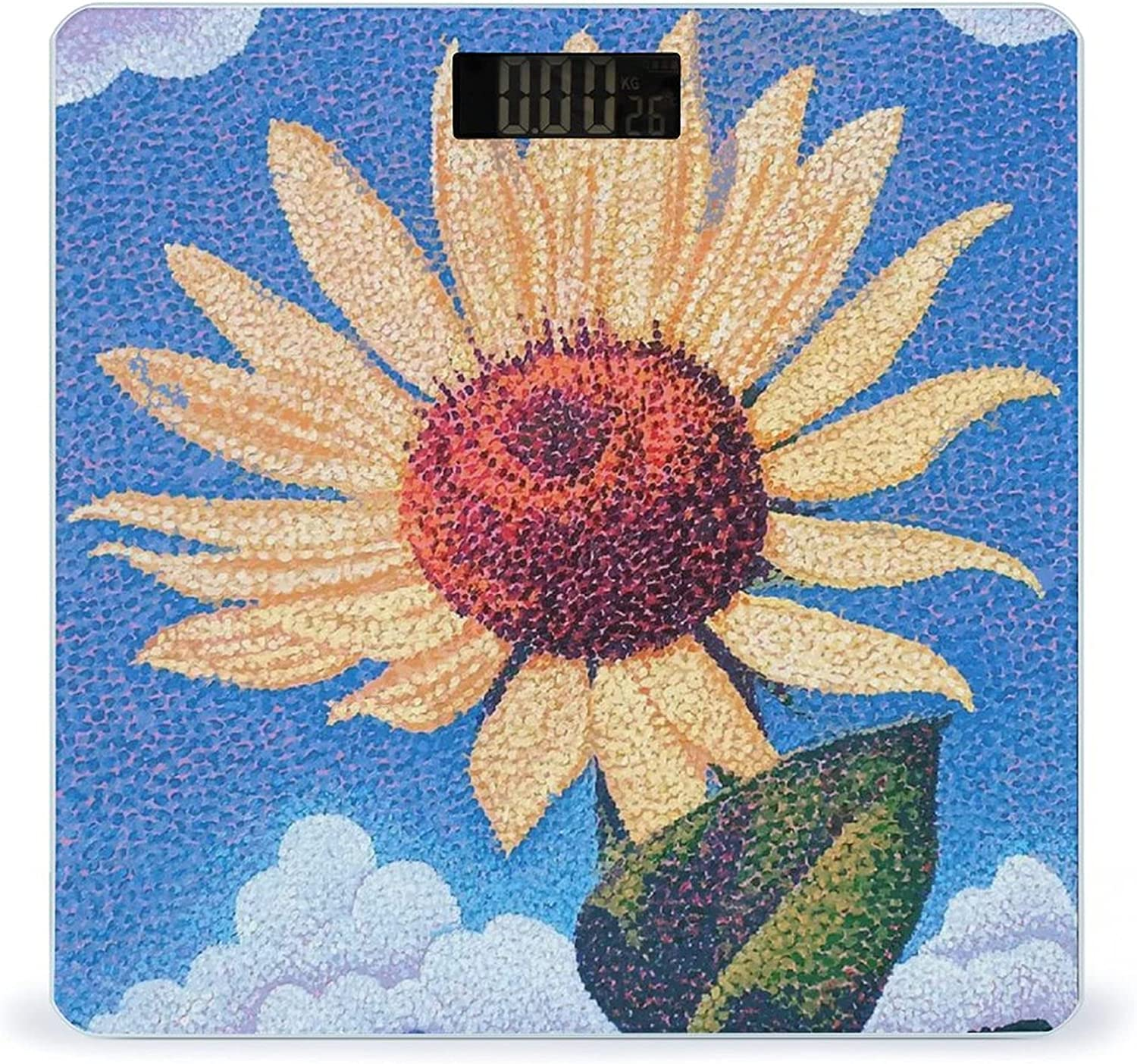 Sunflower Cheap super special price 2 Highly Accurate Smart Weight Scale gift Digital Fitness