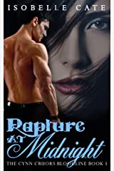 Rapture at Midnight: A Paranormal Romance Vampire Werewolf Hybrid Series (The Cynn Cruors Bloodline Series Book 1) Kindle Edition