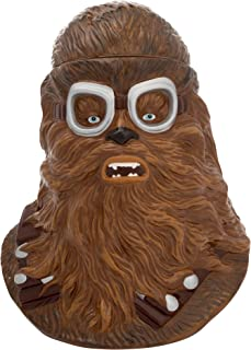 Vandor 56012 Solo: A Star Wars Story Chewbacca Sculpted Ceramic Cookie Jar Canister, Brown