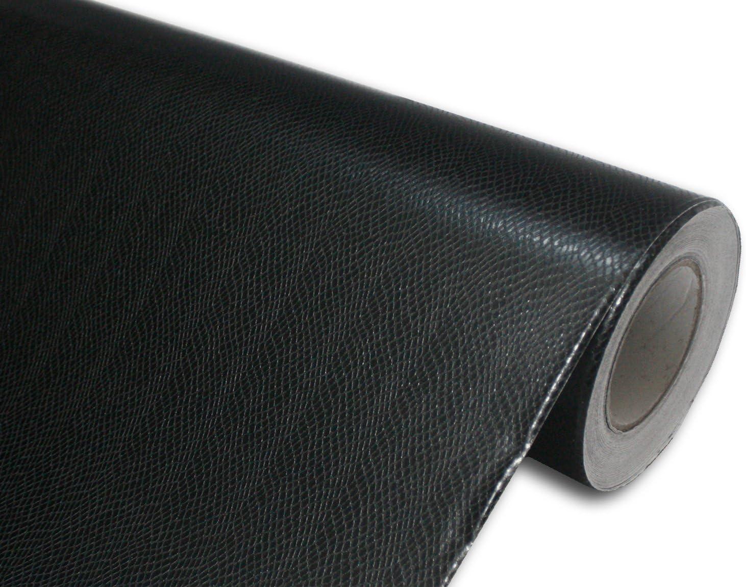 Hachi Auto Black Max 60% OFF Snake Skin Car Wrap SALENEW very popular Vinyl Leather 36-by-60-inch