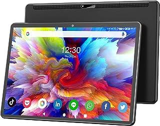 ハイテク10.1インチタブレット、Android 9.0 Pie、オクタコアプロセッサー、32GBストレージ、zonkoブランド、1200x1920 IPS HDディスプレイ、2.4G-5G Wi-Fi、ブラック