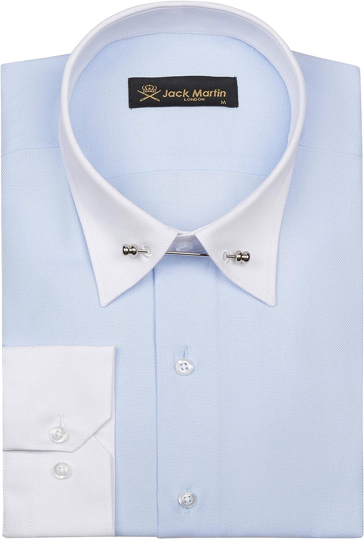 Oxford Pin Collar Shirt   Mens Business, Wedding & Dress Shirts with Collar  Bar