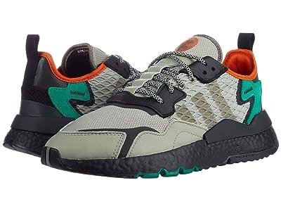 adidas Originals Nite Jogger (Sesame/Core Black/Bold Green) Men