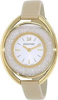 Swarovski Women's Analogue Quartz Watch with Leather Strap 5158972