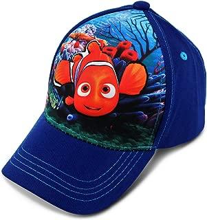 Disney Toddler Girls' Finding Dory/Nemo Character 3D Pop Baseball Cap, White/Blue, Age 2-4
