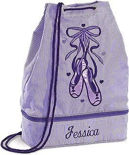 Personalized Kids Purple Ballet Bag, 16