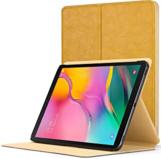 Forefront Cases Cover for Galaxy Tab A 10.1 2019 | Luxury Magnetic Protective Case Cover & Stand for Samsung Galaxy Tab A 10.1 2019 Release | Slim Lightweight Elegant | Yellow