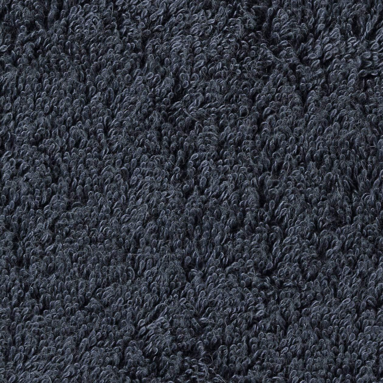 Muji - Toalla de algodón orgánico (34 x 35 cm), color azul marino: Amazon.es: Oficina y papelería