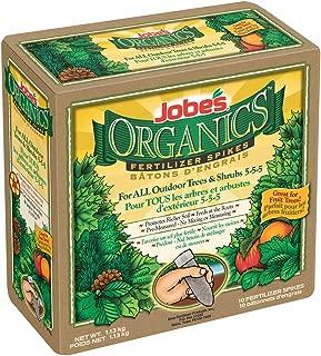 Jobe's Organics Tree & Shrub Fertilizer Spikes, 10 Spikes