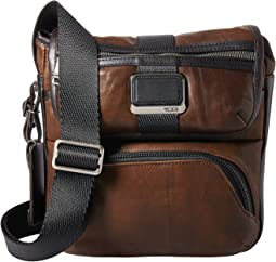Tumi Alpha Bravo Barton Leather Crossbody