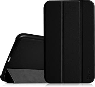 Fintie Samsung Galaxy Tab 4 8.0 (8-Inch) Case - Ultra Lightweight Protective Slim Shell Stand Cover with Auto Sleep/Wake Feature, Black