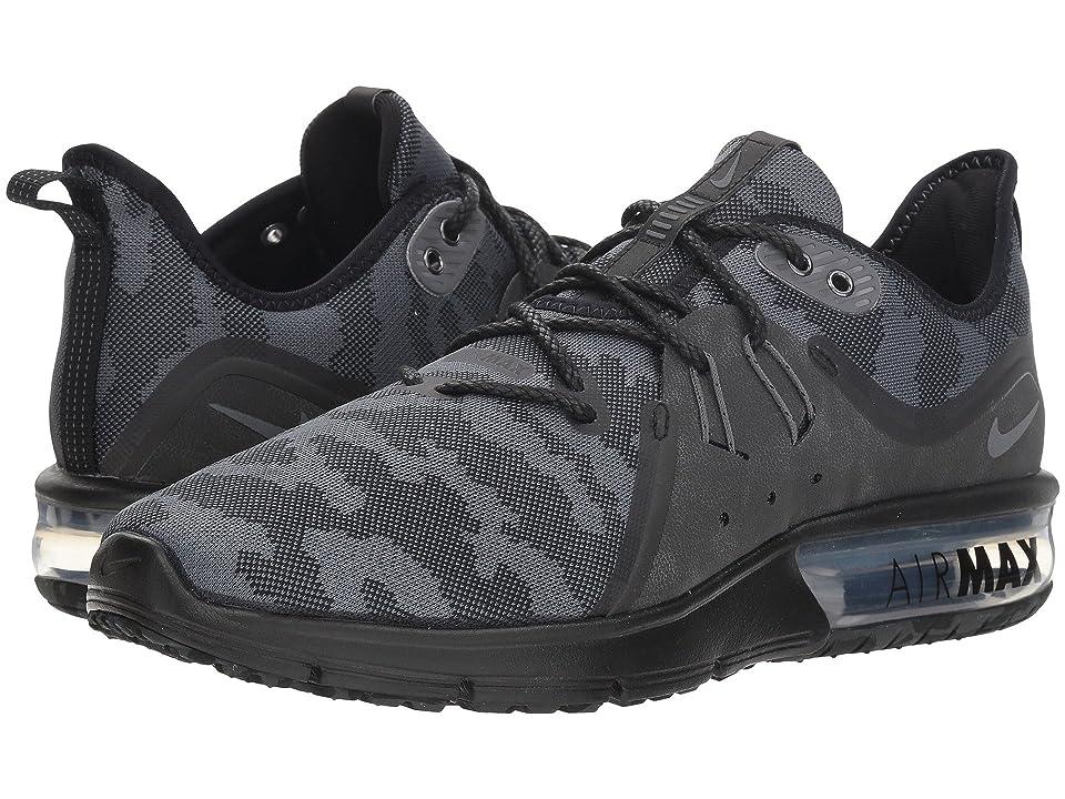 Nike Air Max Sequent 3 Premium (Black/Dark Grey) Men