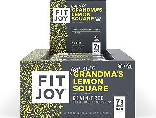 fitjoy grandma's lemon square