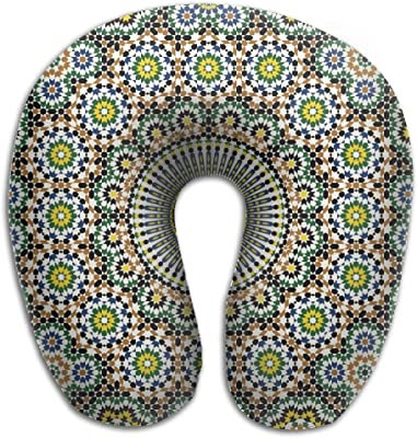 Awesome Arabic Design Super U Type Pillow Neck Pillow Outdoor Travel Pillow Relief Neck Pain