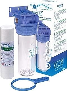 """Boîtier de filtre à eau H103-S12-SET1 - avec connexion 1/2"""""""