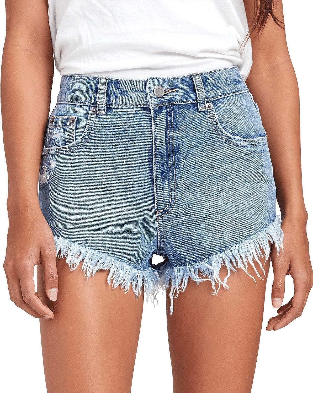 Cheap mail order shopping RVCA Women's Elle Short Denim Elegant