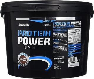 BioTech Protein power Mezcla de Proteínas, Sabor Chocolate - 4000 gr