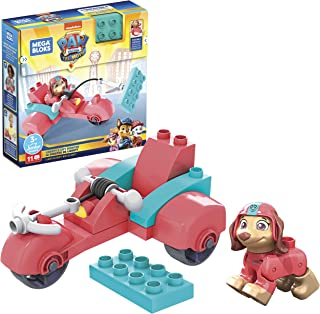 Mega Bloks PAW Patrol Liberty's City Scooter with Mini Building Blocks, Building Toys for Kids 3 Years & Older (11 Pieces)...